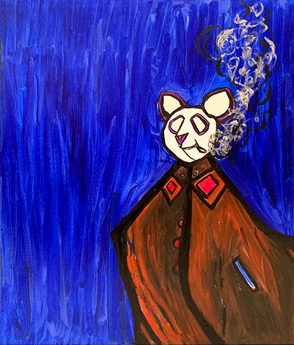 青のパンダ